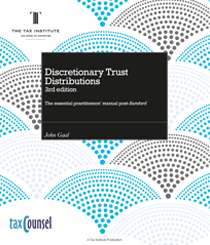 An image of Discretionary Trust Distributions book cover