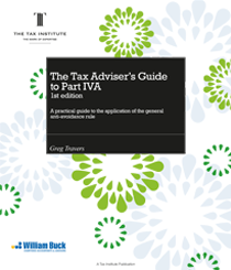 Cover image: The Tax Adviser's Guide to Part IVA
