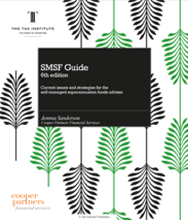 An image of the SMSF Guide book cover