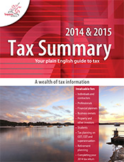 Tax Summary - A wealth of Tax Information