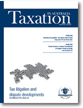 Taxation in Australia | 1 Jun 08