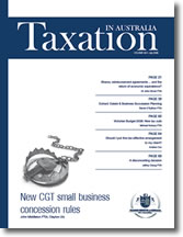 Taxation in Australia | 1 Jul 08