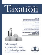 Taxation in Australia | 1 Oct 08