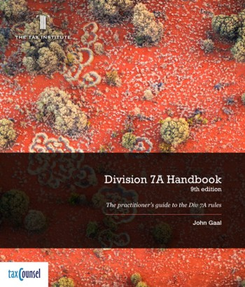 Cover image: Division 7A Handbook, 8th Edition