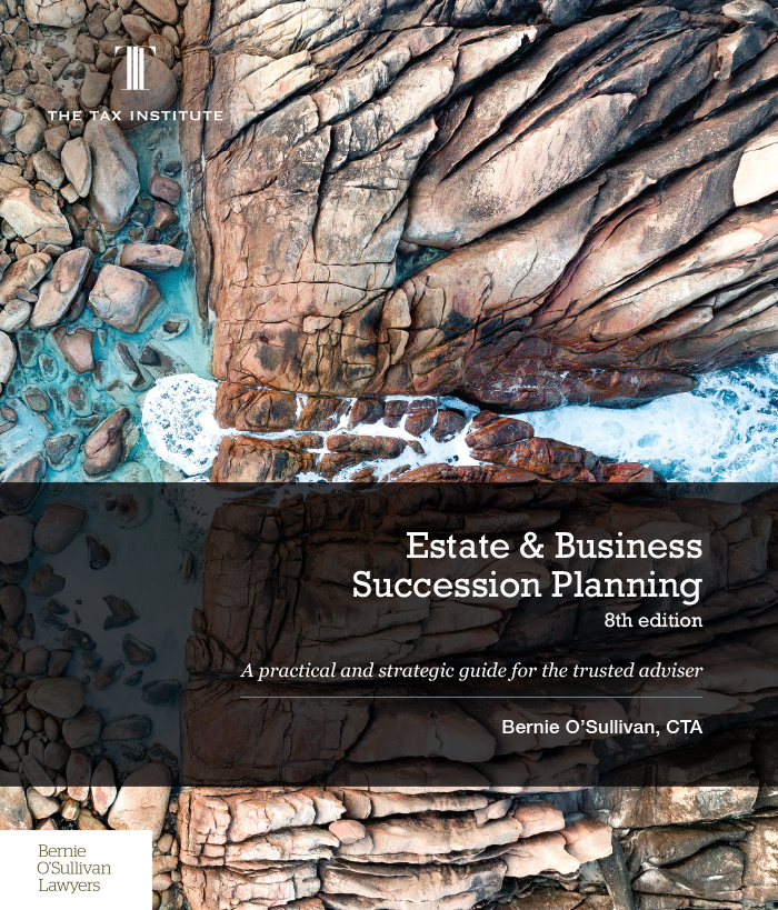 Cover image: Estate & Business Succession Planning, 7th Edition