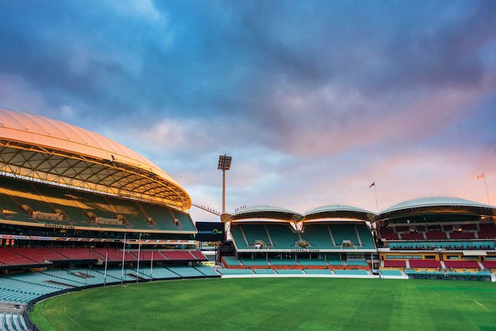 A photograph of Adelaide Oval