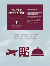 Cover image: The Tax Specialist