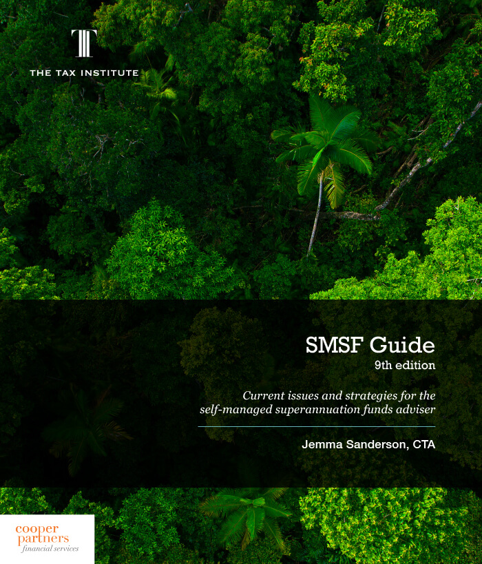 Cover image: SMSF Guide, 9th Edition