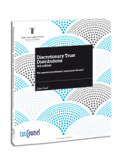 Discretionary Trust Distributions 3rd Ed DTD 2013